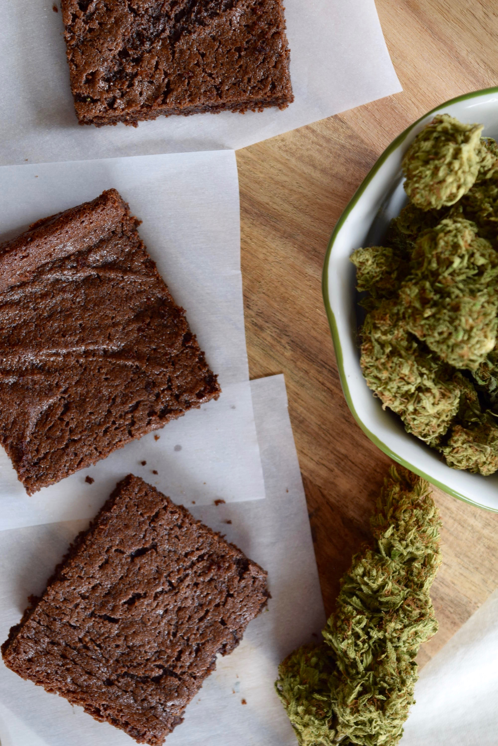 The World's Best (and healthiest!) Paleo Pot Brownies | Wake & Bake
